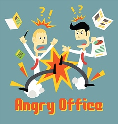 Stress in Office vector