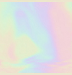 Unicorn colour themed holograph background vector