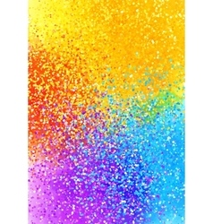 Bright sprayed paint rainbow colors abstract vector