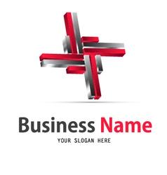 business web icon logo vector image vector image