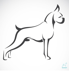 Dog vector image vector image