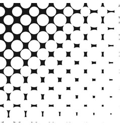 geometric halftone pattern with circles dots vector image vector image
