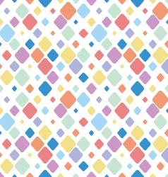 Vintage Diamond Polka Dots Seamless Pattern vector image vector image