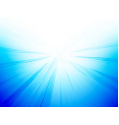 blue light burst abstract background vector image