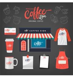 Coffeecafeset10 vector