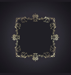 Elegant background with decorative frame vector