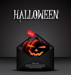 Halloween poster design vector
