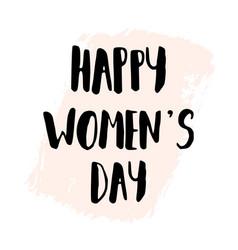 Happy women39s day vector