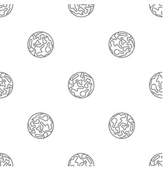 mars planet pattern seamless vector image