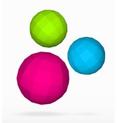 Polygon spheres vector