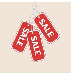 Sale tag vector image