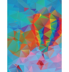 Vibrant colorful background vector