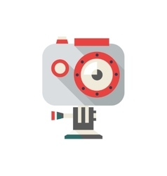 Action camera extreme video vector image