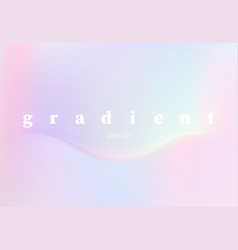 abstract hologram gradient for design vector image