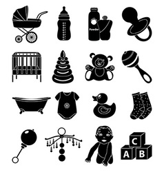 Batoys icons set vector