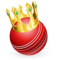 King cricket vector