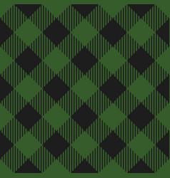 lumberjack plaid pattern seamless background vector image