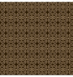 Seamless elegant gold pattern vector