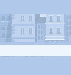 town architecture skyline megapolis buildings vector image