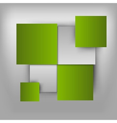 business squares light green vector image