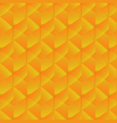 geometric pattern with orange rectangles vector image