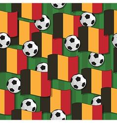Belgium football pattern vector