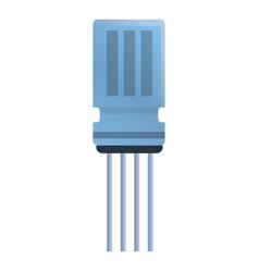 Condenser capacitor icon cartoon style vector
