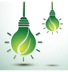 Green idea vector