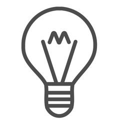 Hint lamp icon vector