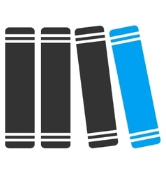 Library Books Icon vector image