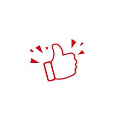 like icon symbol simple design vector image