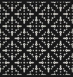 simple seamless pattern with small rings dots vector image