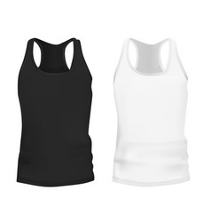 Templates Female Tank Tops Vector Images Over 190
