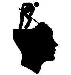 Under Construction Head vector