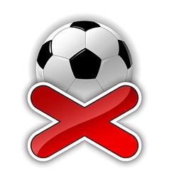 football fail vector image