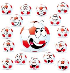 Handball cartoon vector