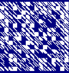 Abstract texture diagonal navy blue and white vector