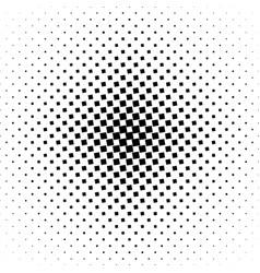 Monochrome square pattern background vector