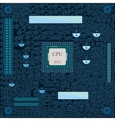 Motherboard cpu vector