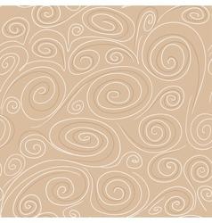 Seamless background with spirals pattern vector