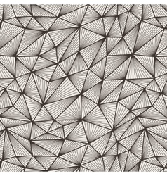 Seamless pattern of polygonal lines in a vector