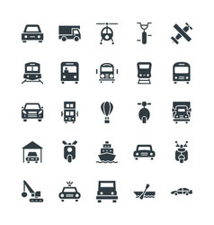 Transport Cool Icons 3 vector