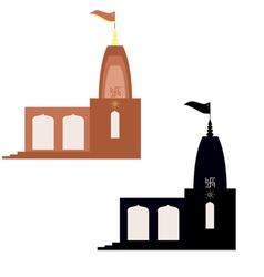 Mandir vector image