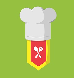 Restaurant Chef Cook Food Icon vector image