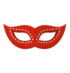 celebration carnival icon flat style vector image