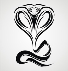 Cobra Snake Tribal vector