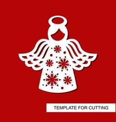 Cut angel4 vector