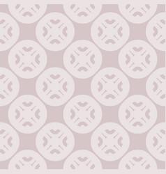 geometric ornament in pastel colors pale purple vector image