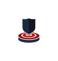 guard target logo icon design vector image