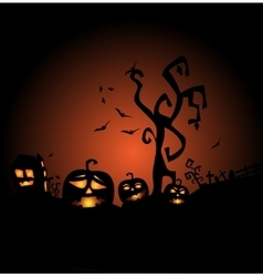 Halloween the most terrible and terrifying vector